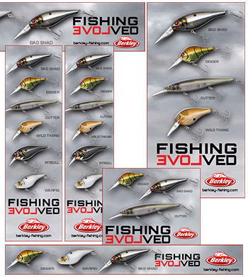Berkley Fishing HTML5 banners.