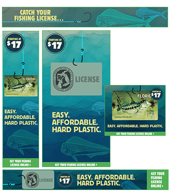 Florida Fish and Wildlife HTML5 banners